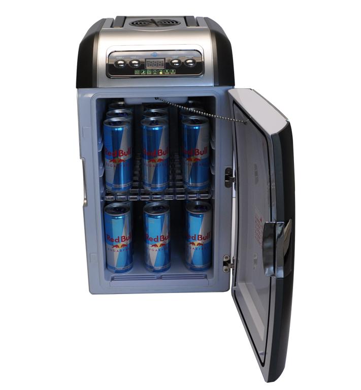 réchauffe 220 V 12 V voiture Cooler Sur Roues Mini-frigo Glacière 19 L refroidissant